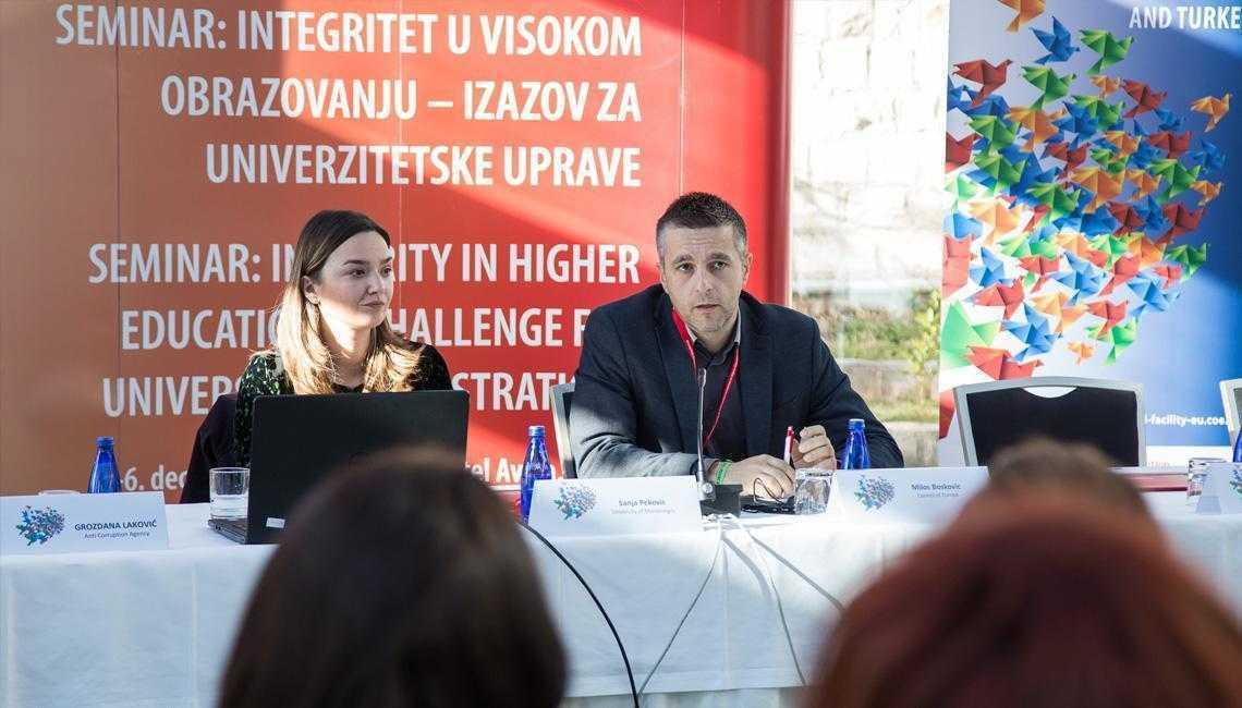 Planovi integriteta moćno sredstvo u sprečavanju zloupotreba u oblasti visokog obrazovanja