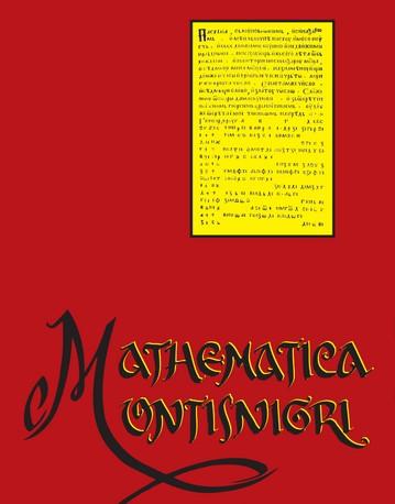 Najnoviji broj časopisa Mathematica Montisnigri