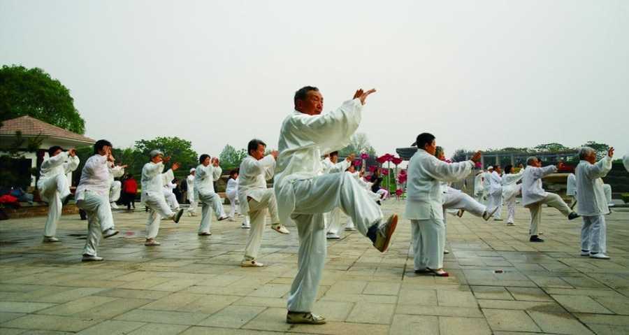 Kurs taiđija na Institutu Konfucije