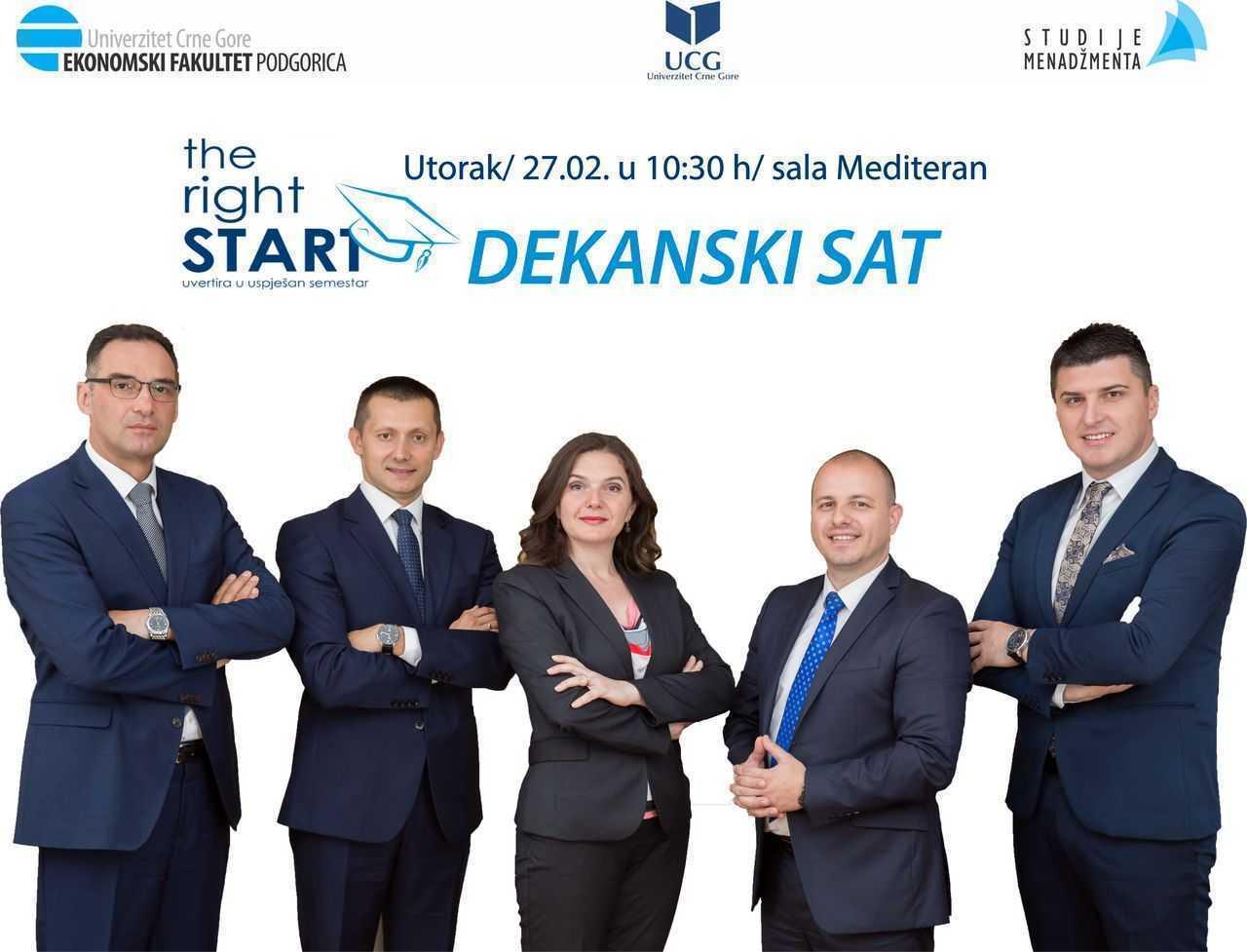 The Right Start : Dekanski sat