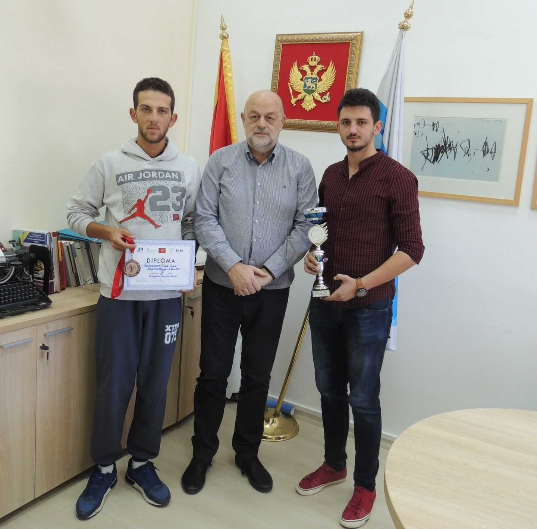 Studentski kup Crne Gore u odbojci 2017_III mjesto za studente Arhitekture