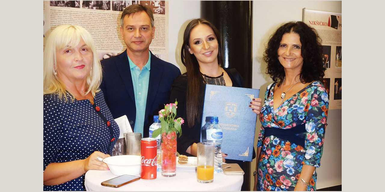 Nagrađena studentkinja Filološkog fakulteta