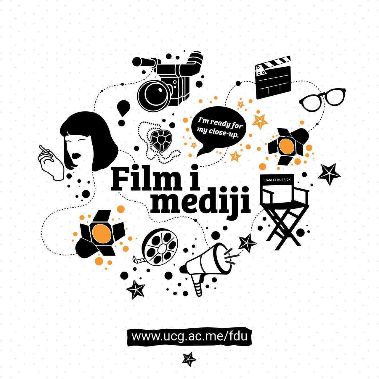 Konsultacije za prijemni ispit na studijskom programuFILM I MEDIJI