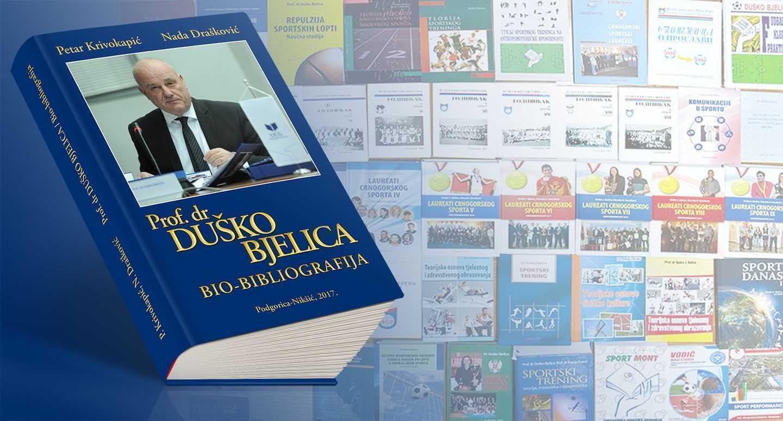 Prof. dr Duško Bjelica - Bio-bibliografija