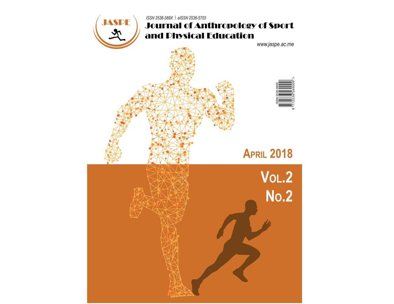 Aprilsko izdanje međunarodnog naučnog časopisa JASPE