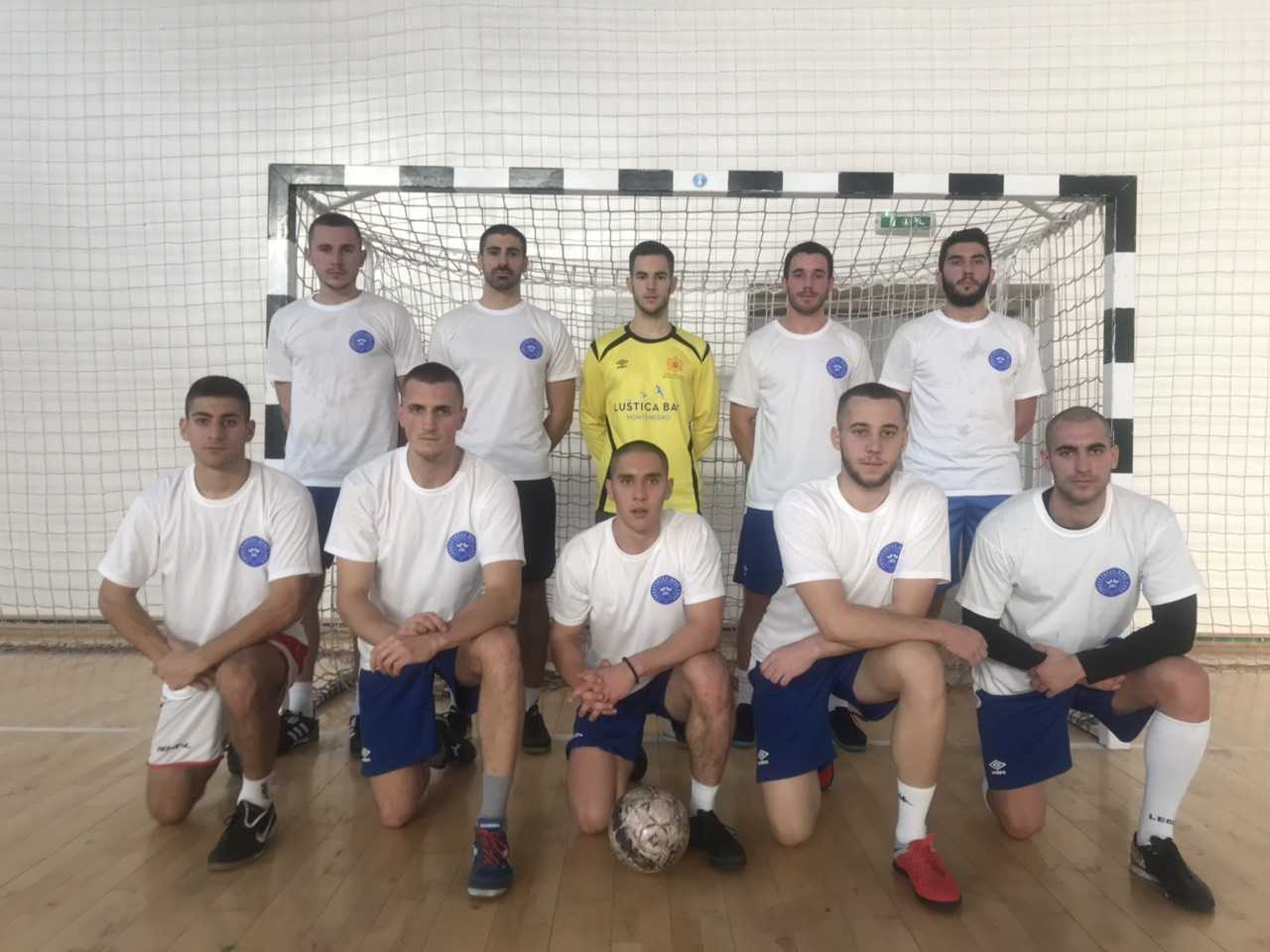 Fudbalska ekipa Fakulteta za sport i fizičko vaspitanje prvak A grupe Studentske lige