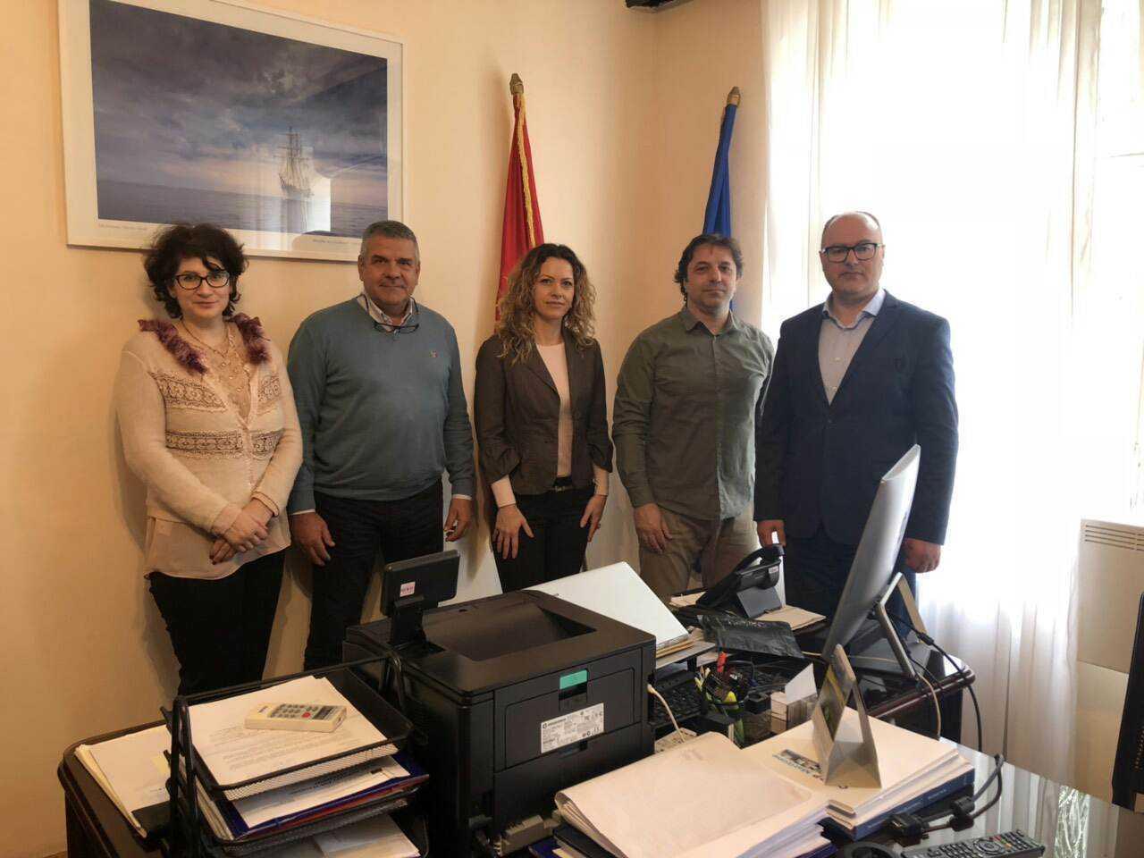 Posjeta predstavnika Pomorskog saobraćaja Herceg Novi (Kamenari)