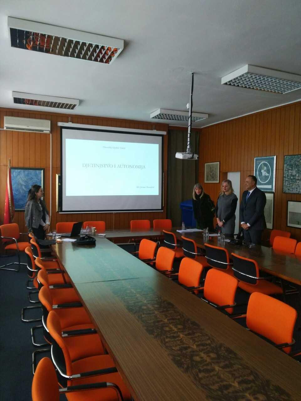 Uspješna odbrana prve doktorske disertacije iz pedagogije u Crnoj Gori