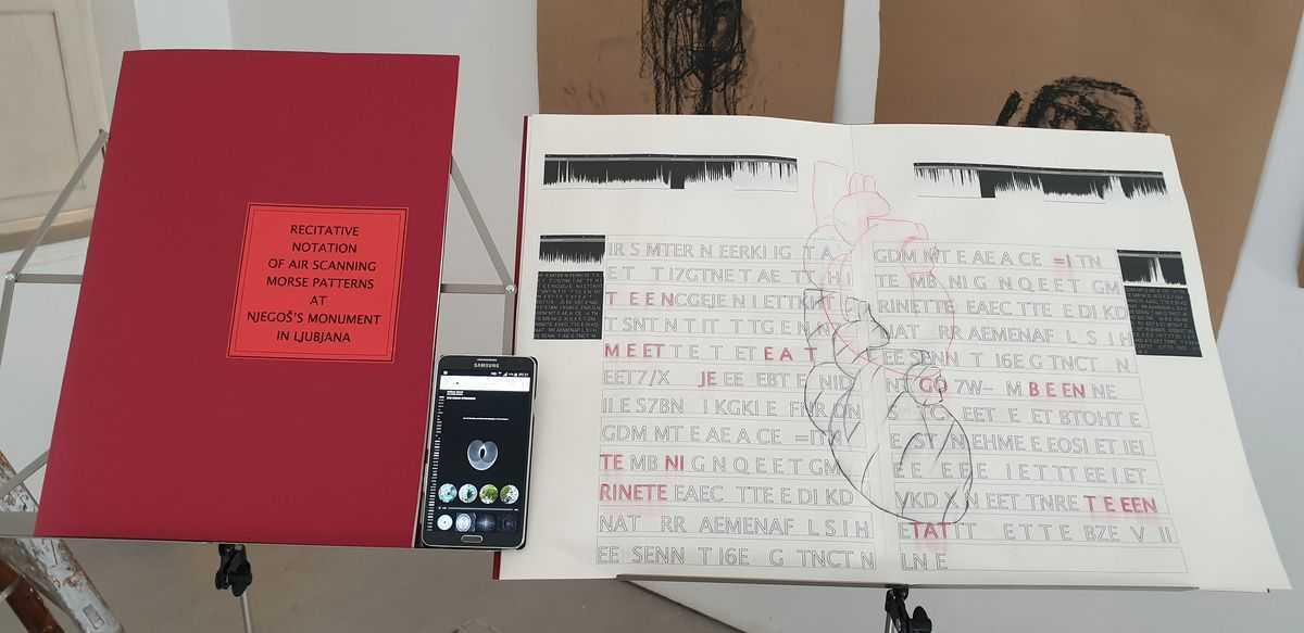 Gostovanje Dušana Zidara i performans sa studentkinjama FLU u Galeriji 42°