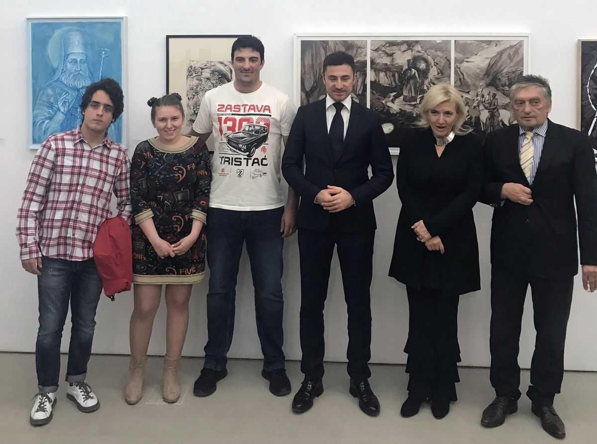 """Otvorena izložba """"Sveti Petar Cetinjski"""""""