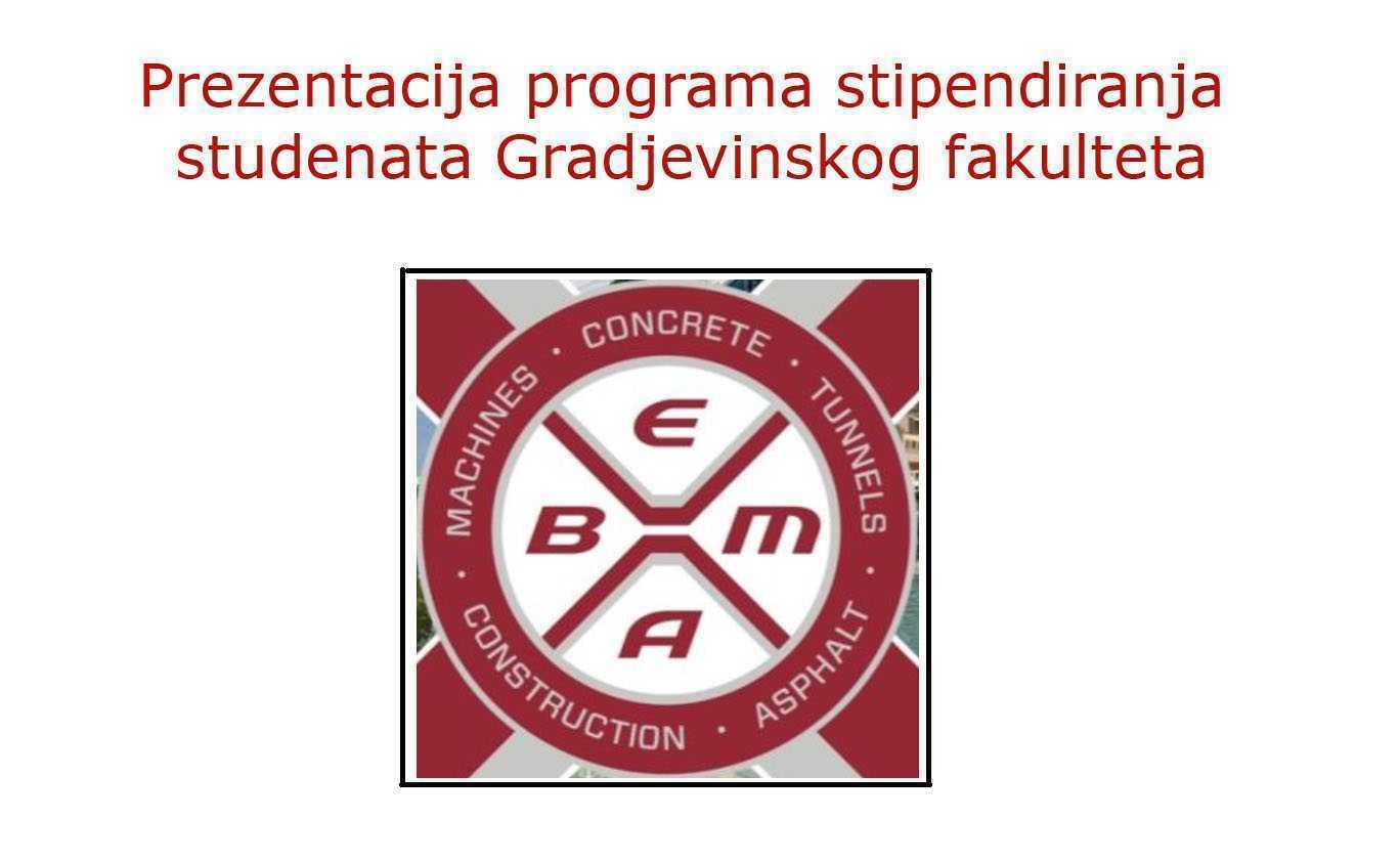 Program stipendiranja kompanije BEMAX