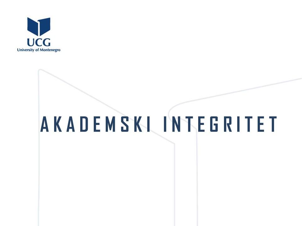 Akademski integritet