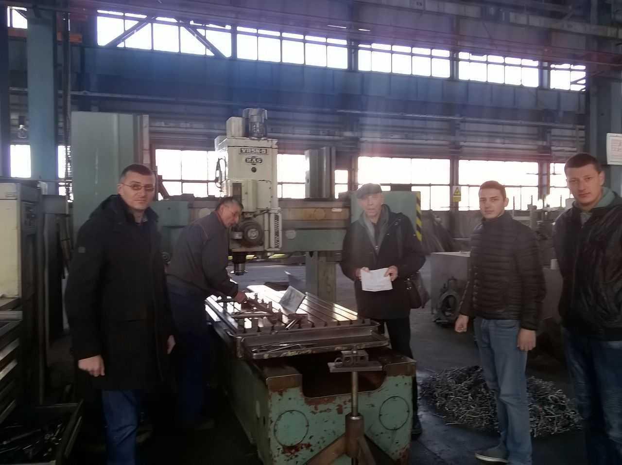 Posjeta studenata Mašinskog fakulteta firmi Metalac Termochem