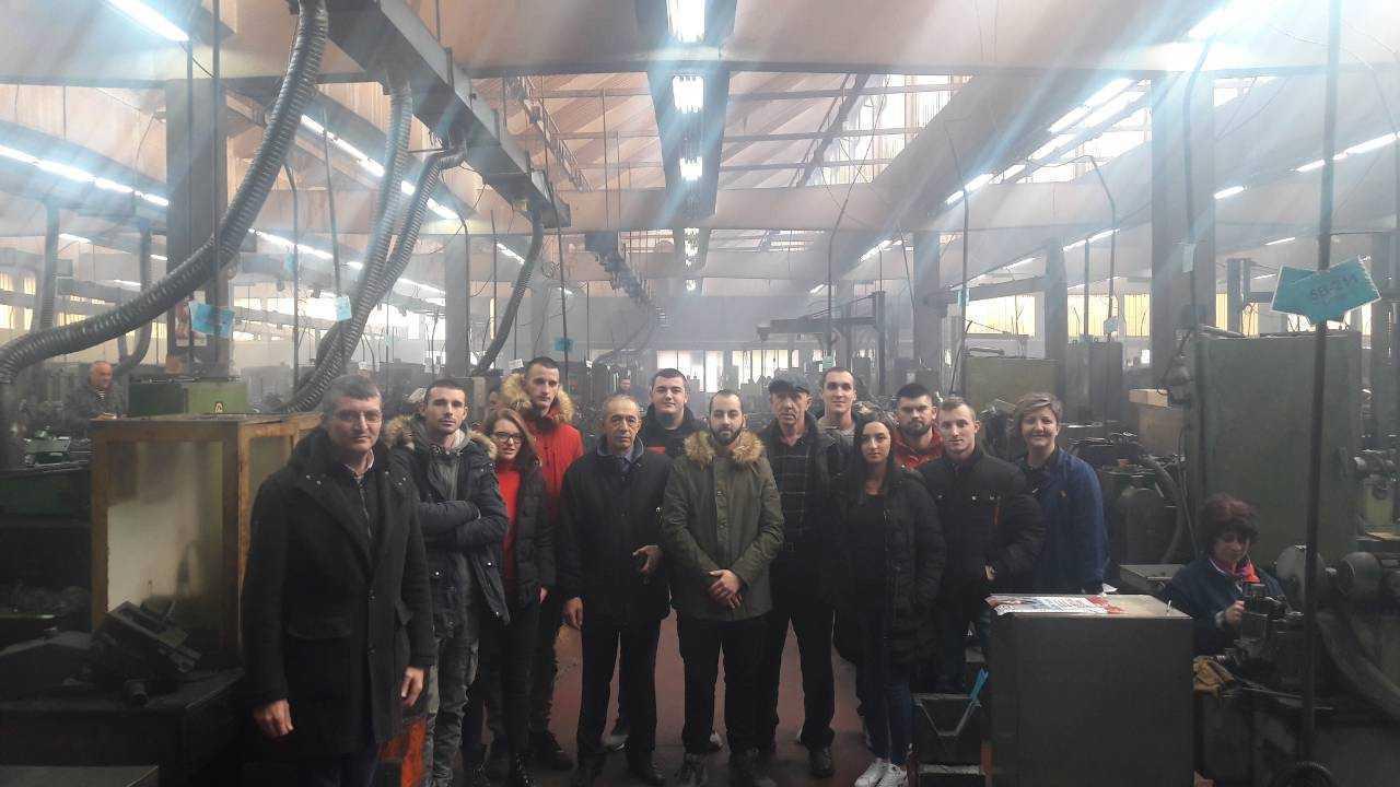 Posjeta studenata fabrici Swisslion industrija alata i Fakultetu za proizvodnju i menadžment u Trebinju