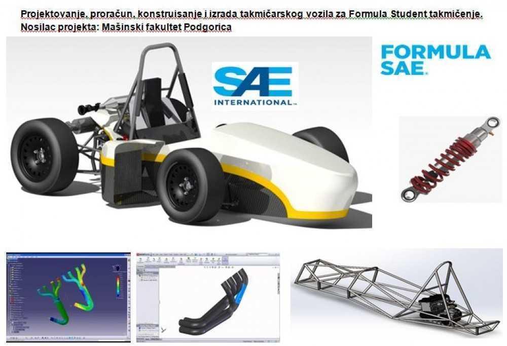 Izrada takmičarskog vozila za Formula Student takmičenje