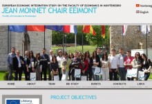 JEAN MONNET CHAIR EEIMONT