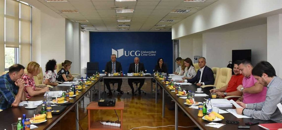 Upravni odbor UCG donio odluke o izboru dekana Mašinskog i Filološkog fakulteta