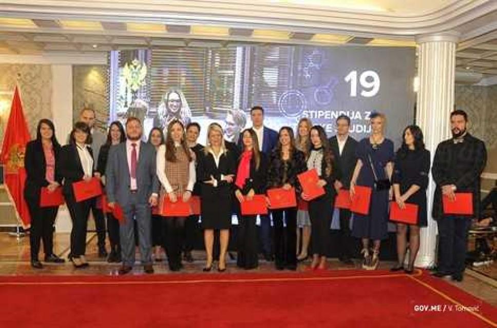 Svečana dodjela stipendija doktorandima Univerziteta Crne Gore