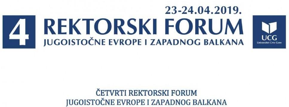 Univerzitet Crne Gore domaćin Četvrtog rektorskog foruma