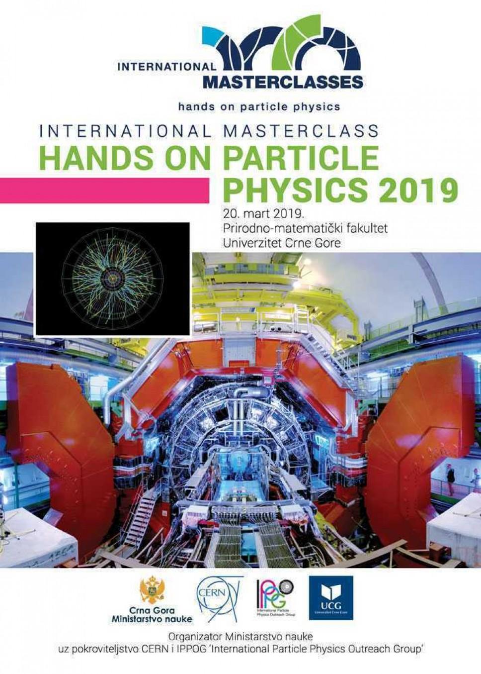 Međunarodni čas fizike čestica Masterclass treći put u Podgorici