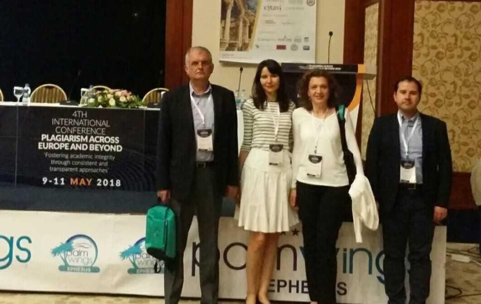 Predstavnici UCG na međunarodnoj konferenciji o plagijarizmu