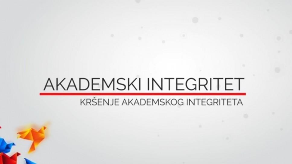 VIDEO 2 - Kršenje akademskog integriteta