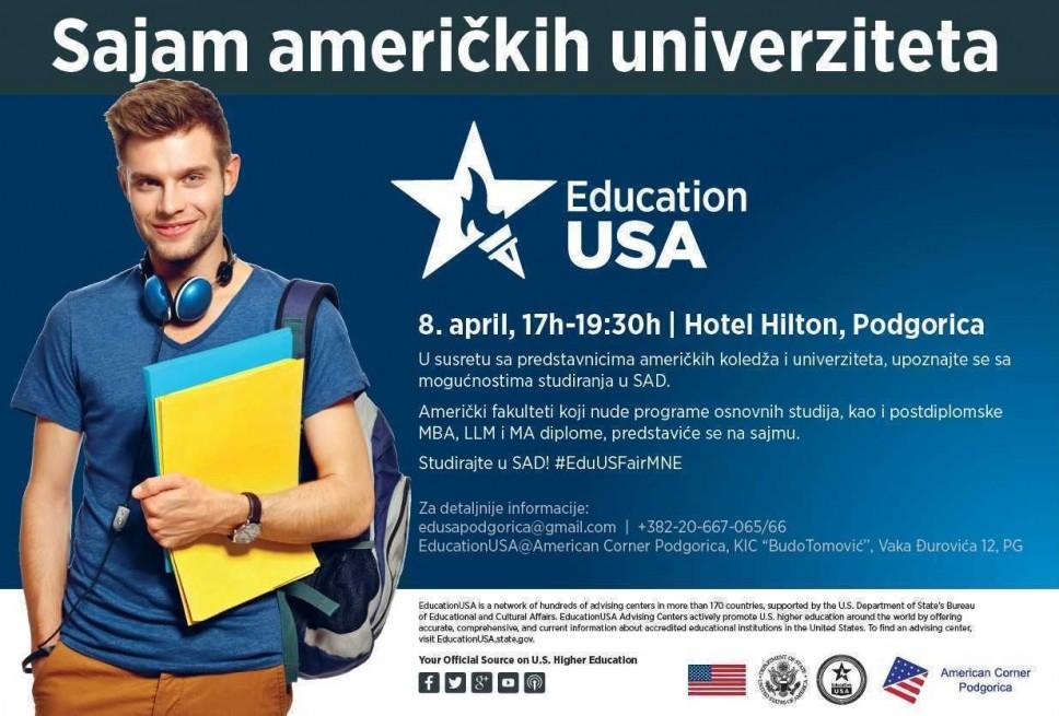 Sajam američkih univerziteta 8. aprila