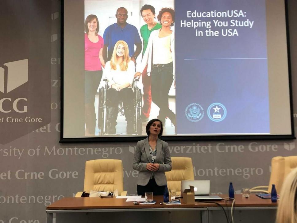 Na Univerzitetu Crne Gore održana prezentacija o američkim univerzitetima