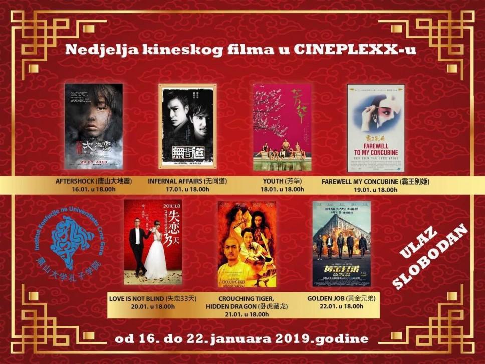 Najpopularniji kineski filmovi u CINEPLEXX-u