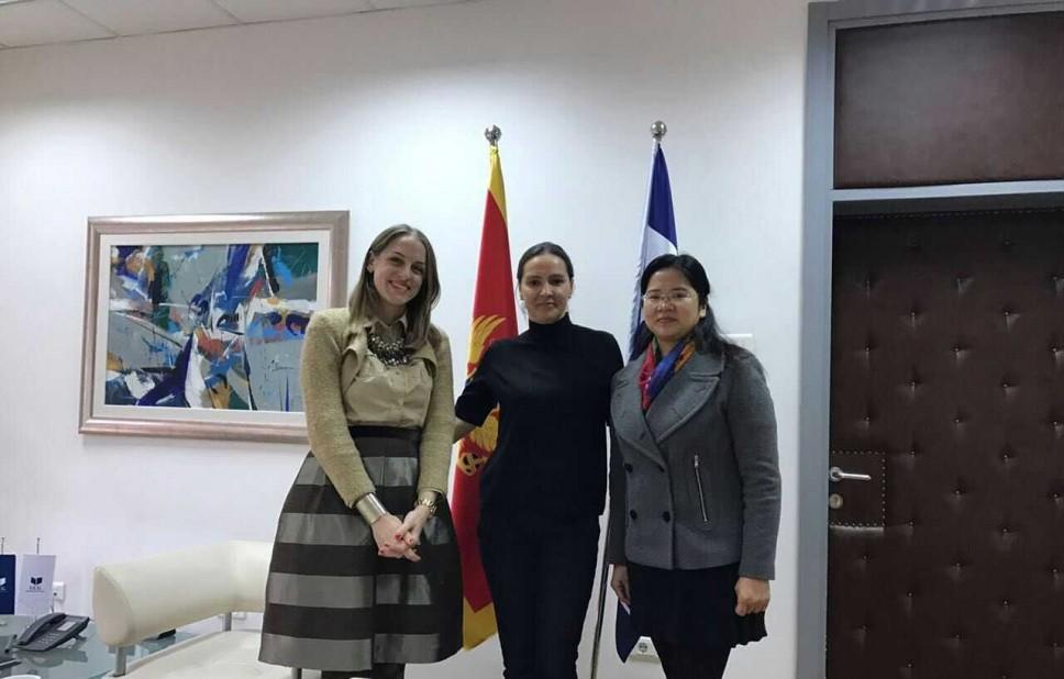 Sastanak sa rektorkom Univerziteta Crne Gore