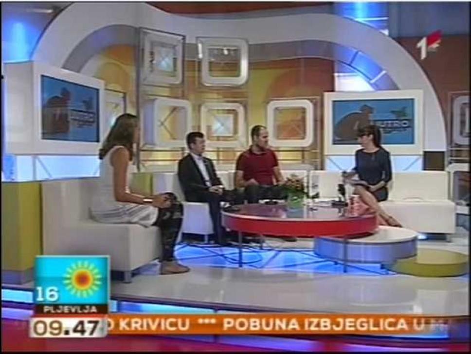 Gostovanje u jutarnjem programu Radio televizije Crne Gore