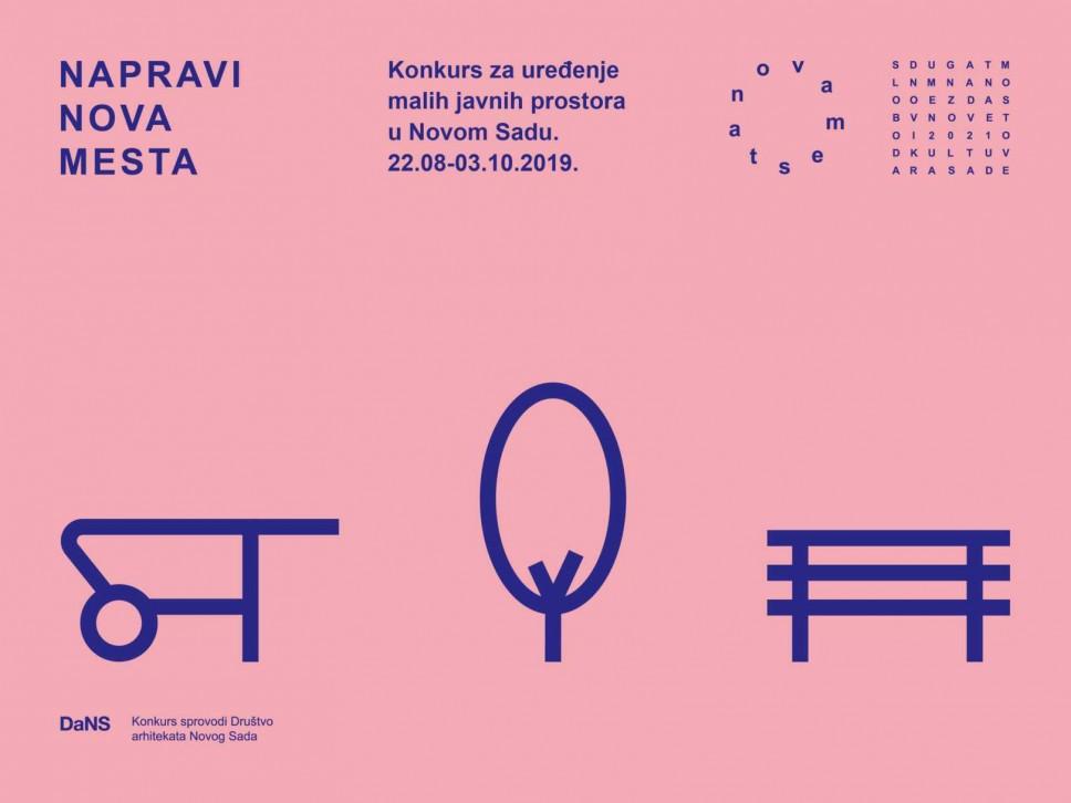 Konkurs za uredjenje malih javnih prostora u Novom Sadu