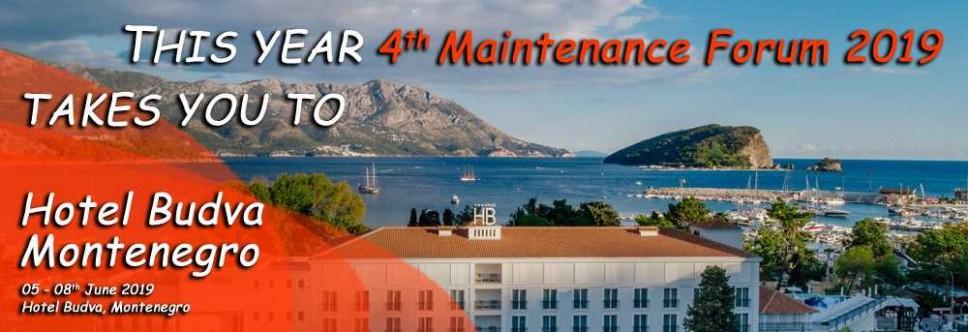 """Međunrodni naučno-stručni skup """"Maintenace Forum 2019"""""""
