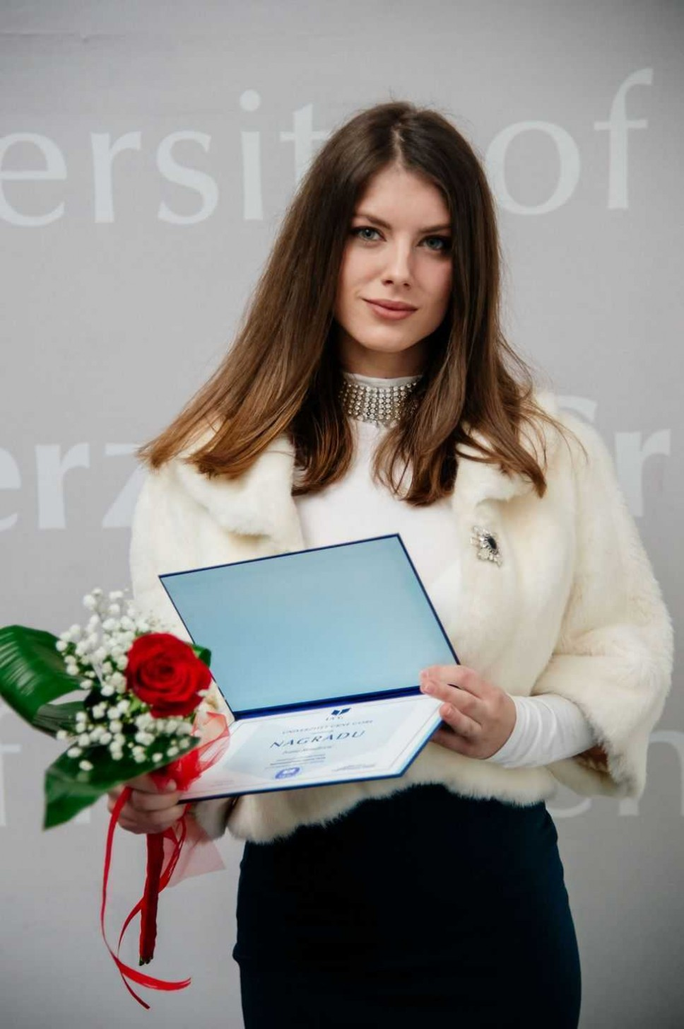 Ivana Rondović, najbolji student Biotehničkog fakulteta