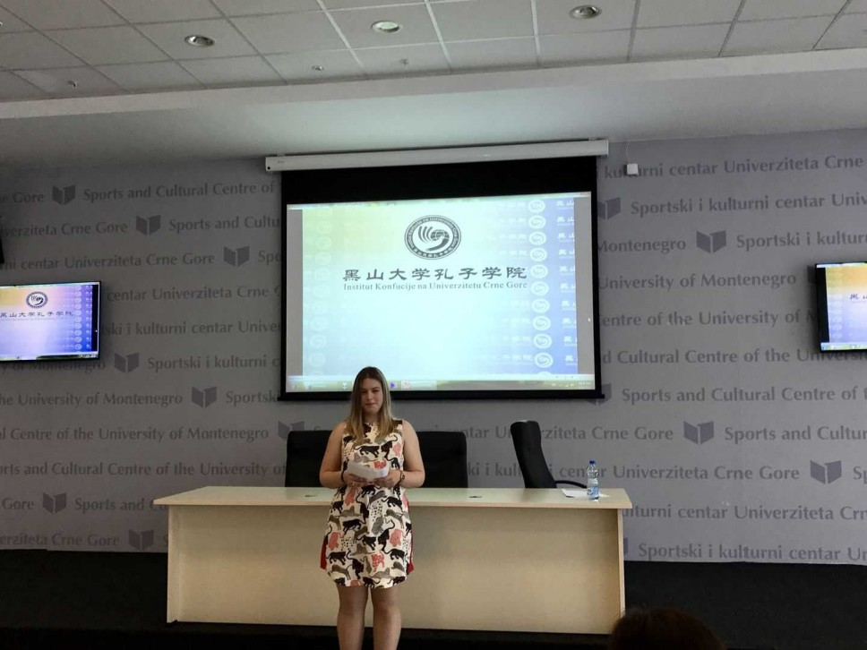 """Studentkinja Vesna Vavić osvojila II mjesto na """"Chinese Bridge Competition"""""""