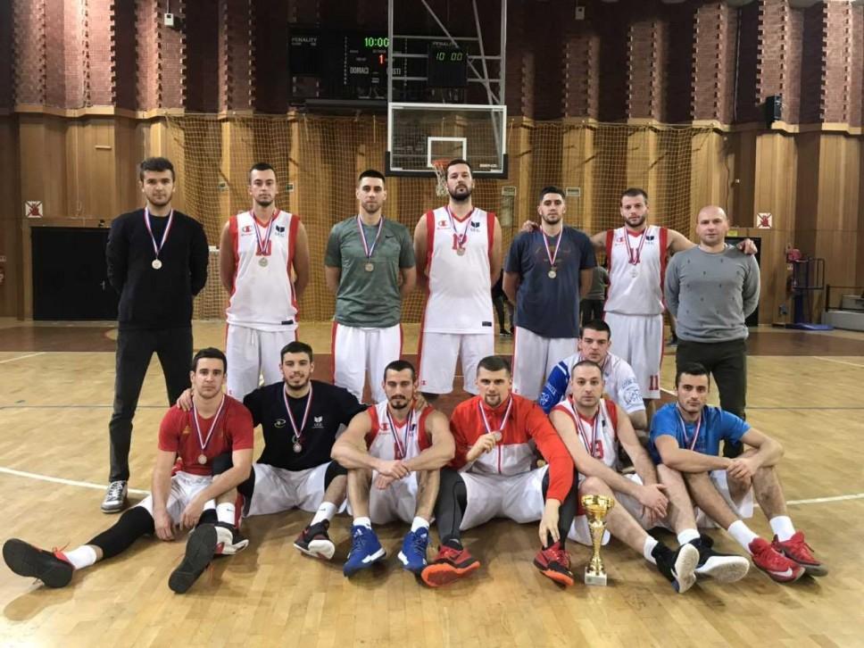 Košarkašima UCG drugo mjesto u Dubrovniku