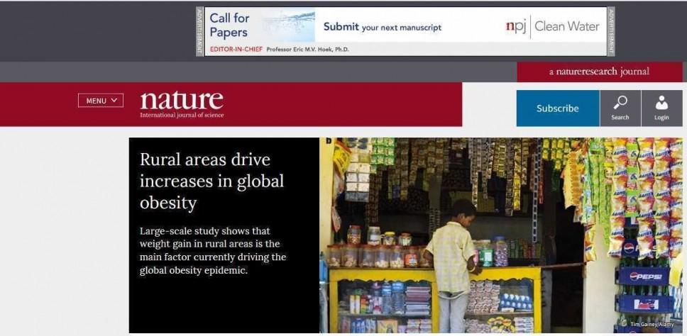 Svjetski naučnici dokazali: Gojazniji u selu nego u gradu na globalnom nivou