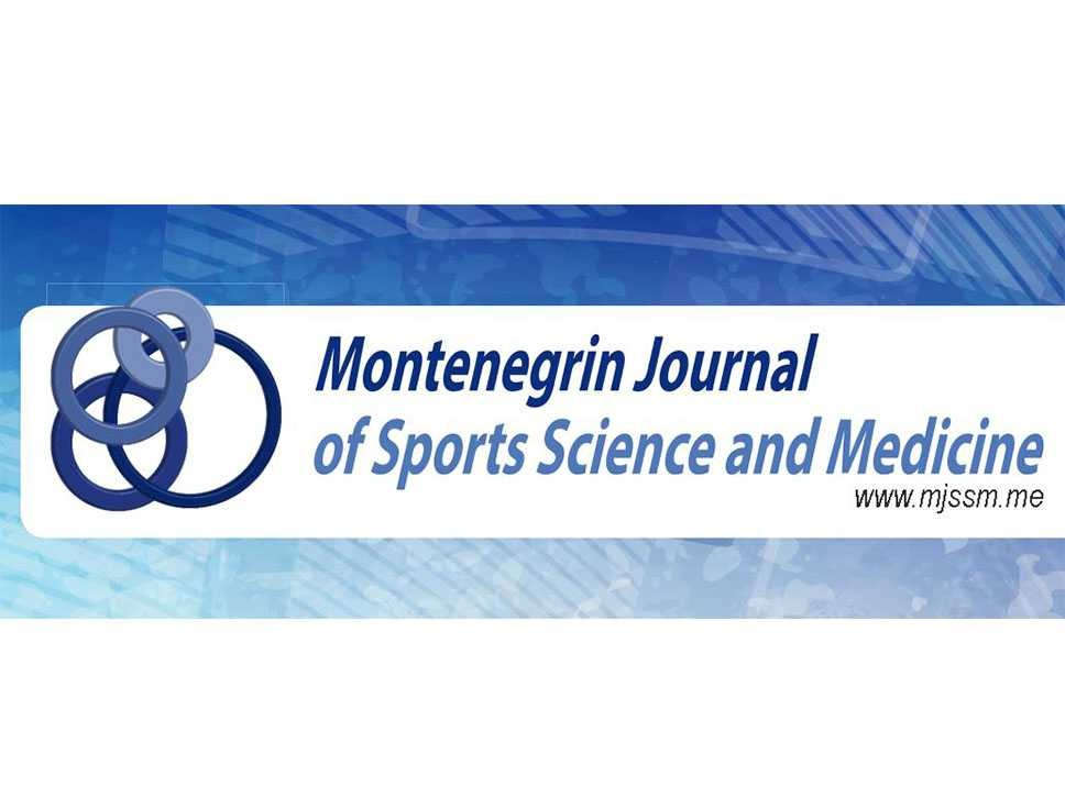 Sva izdanja časopisa Montenegrin Journal of Sports Science and Medicine