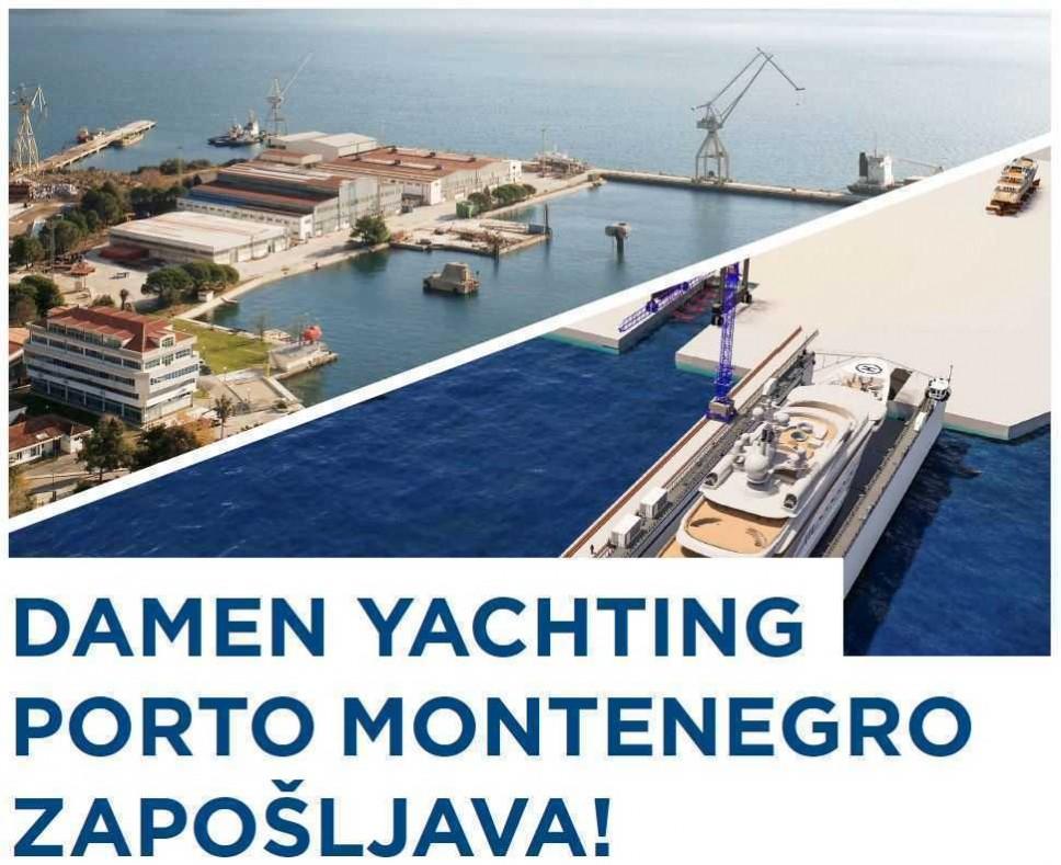 Porto Montenegro i Damen organizuju Sajam zapošljavanja