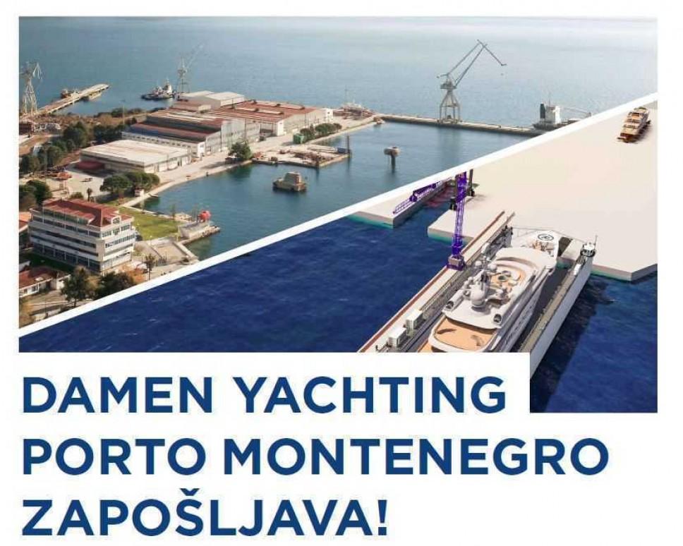Porto Montenegro & Damen organizuje Sajam zapošljavanja, 17.4.2019.