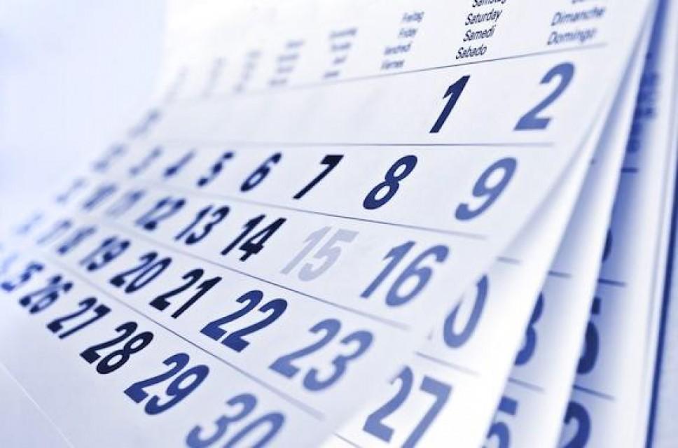 Akademski kalendar za studijsku 2019/20
