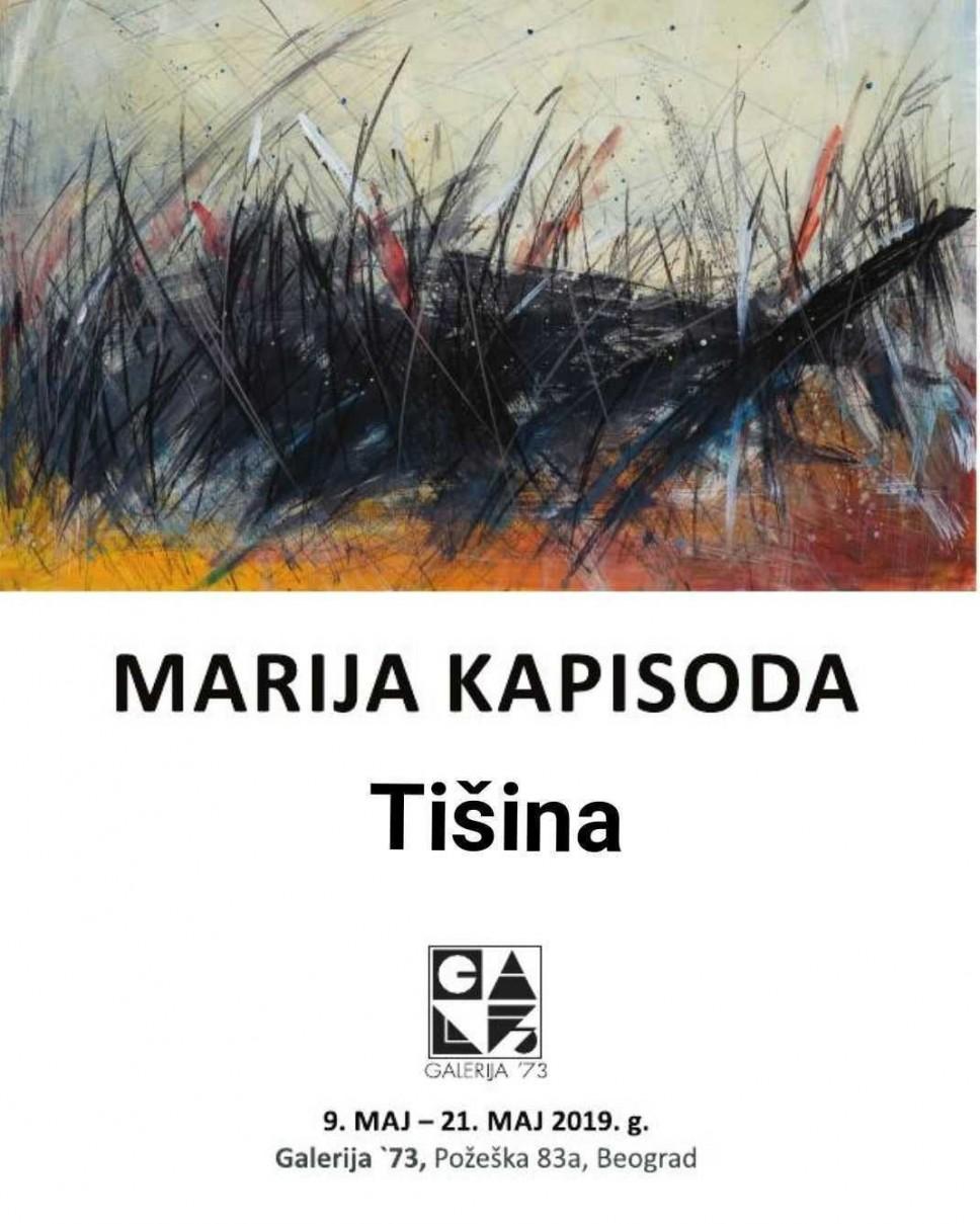 Izložba Marije Kapisode u Beogradu