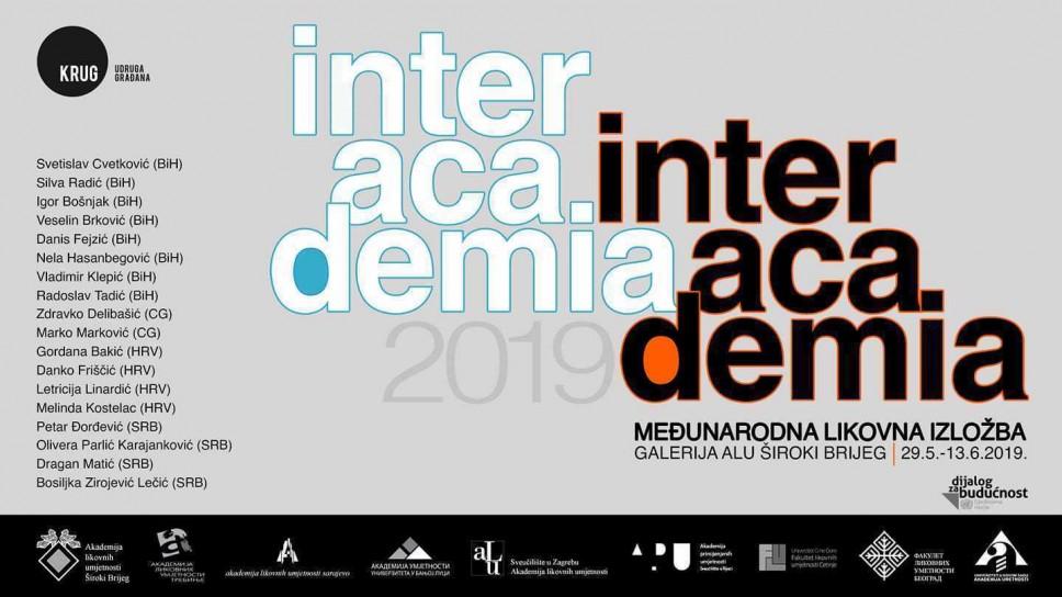 "Međunarodna likovna izložba ""INTERACADEMIA"""