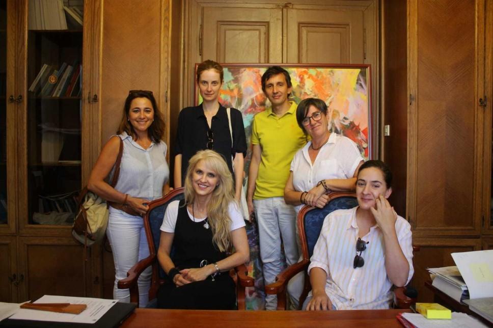 Produbljivanje Erasmus + saradnje sa Fakultetom iz Malage i Akademijom iz Bratislave