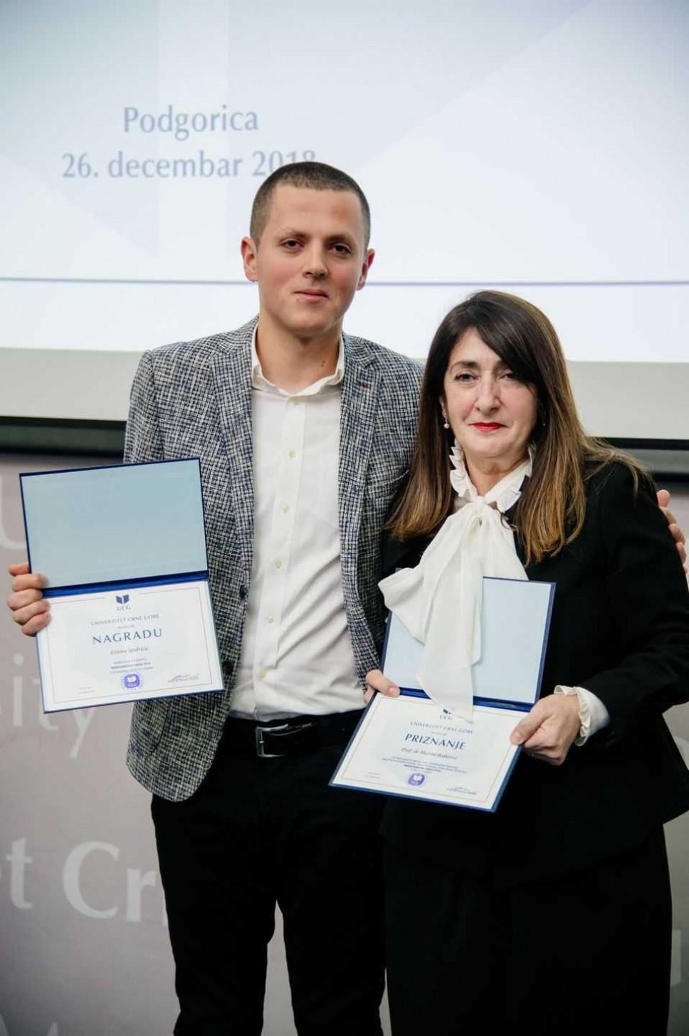 Ersin Spahić, najbolji student Medicinskog fakulteta