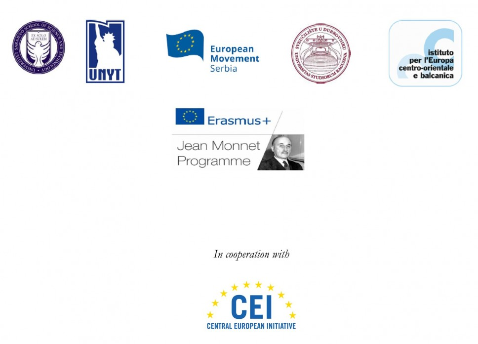 Call for Application - The Jean Monnet Network in cooperation with the Central European Initiative is launching