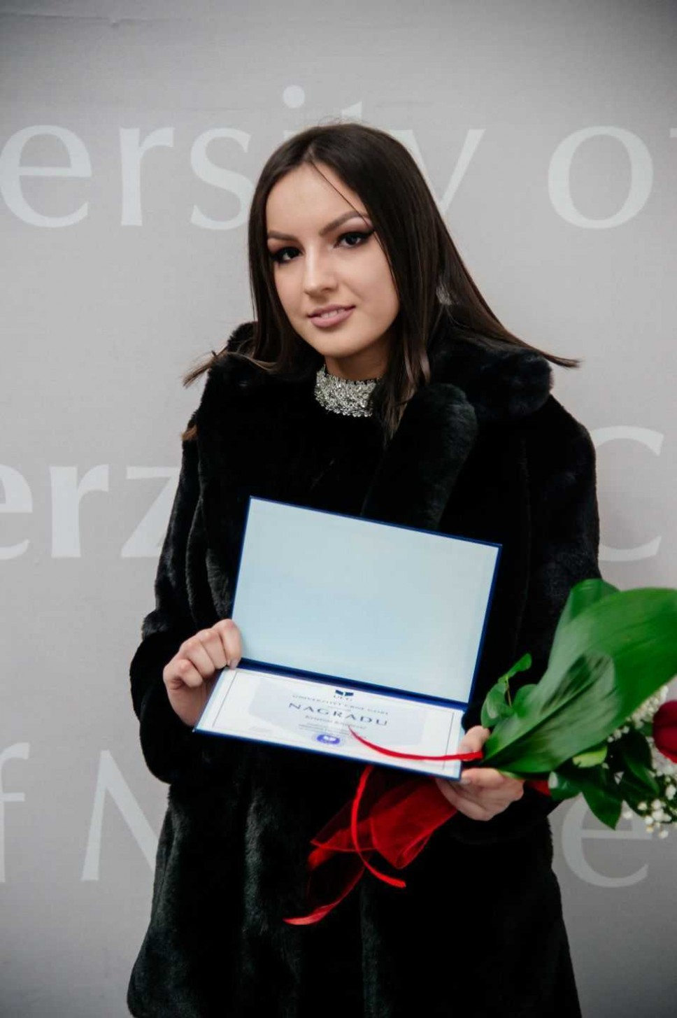 Kristina Knežević, najbolji student Fakulteta političkih nauka