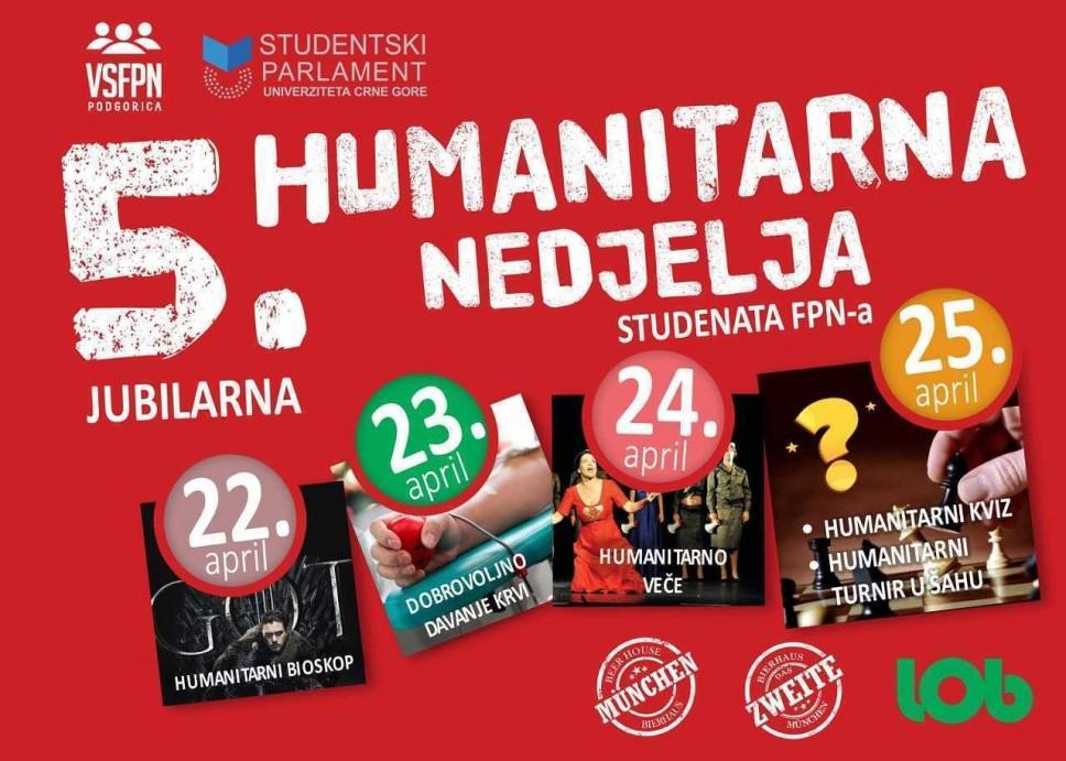 Humanitarna nedjelja na Fakultetu političkih nauka