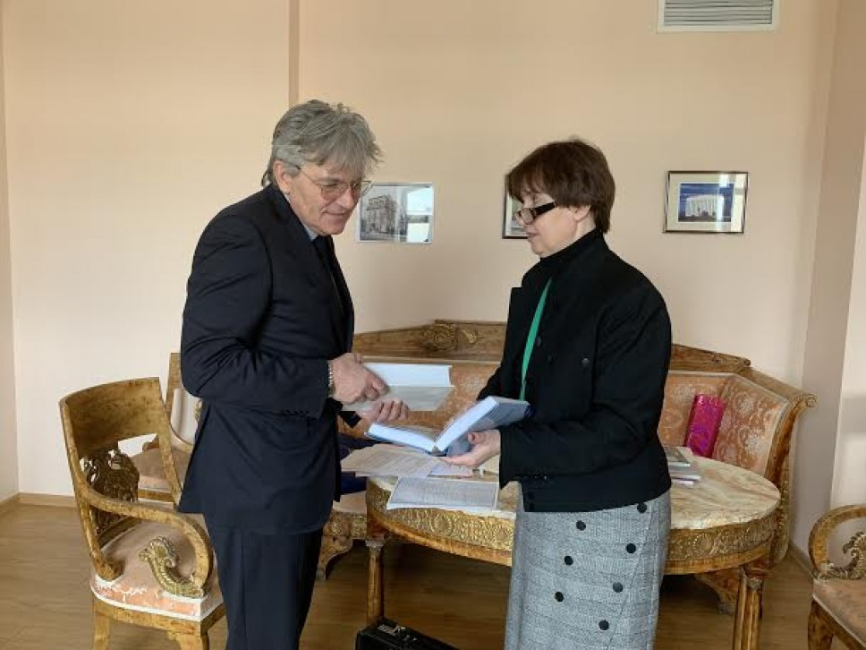 Dogovor o nastavku saradnje Istorijskog instituta UCG i Arhiva spoljnih poslova Ruske Imperije