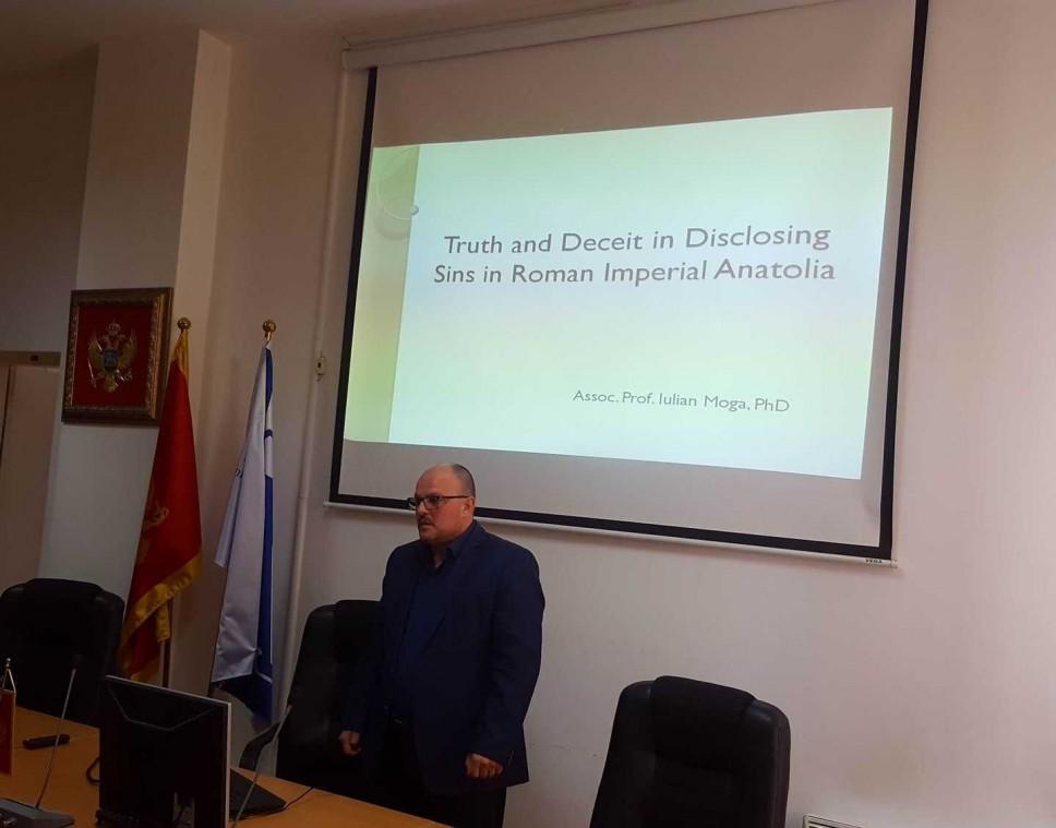 Održano predavanje dr Iuliana Moga